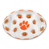 Clemson Ceramic Football Tailgating Platter