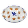 Kentucky Ceramic Football Tailgating Platter