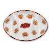 Oklahoma State Ceramic Football Tailgating Platter