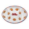 Ole Miss Ceramic Football Tailgating Platter
