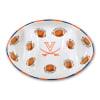 Virginia Ceramic Football Tailgating Platter