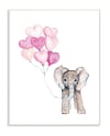 Full of Love Party Elephant Wood Plaque Wall Art