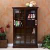 Alcott Sliding Door Media Cabinet - Espresso