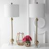 Modern Brass Table Lamp Set of 2