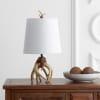 Antler Resin Table Lamp, Natural
