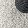 Shag Plush Tassel White Area Rug