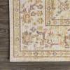 Modern Faded Peshawar Ivory  3' x 5' Area Rug