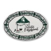 Michigan State Tailgates and Touchdowns Melamine Platter