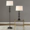 Architectural Iron Floor Lamp