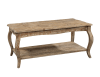 Rustic Reclaimed Driftwood Coffee Table