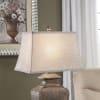 Dax Brown Resin Table Lamp