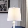 Luna Silver Resin Buffet Table Lamp
