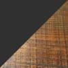 Pomona  Metal and Solid  2 Shelves Wood Desk
