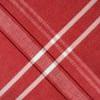 Bordered Red Round 84x60