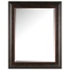 Rectangle Brown Bronze Wall Mirror