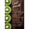 Look Inside Organic Brights Wood Plaque with Easel
