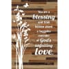 You are a Blessing sent from heaven above Wood Plaque Easel Hanger