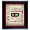 Liberty Lives in New York City with Coin and Stamp Wall Frame