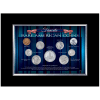 Favorite Rare American Coins Wall Frame