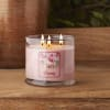 Root Candles La Fleur 14 oz. 3 Wick Candle, Peony