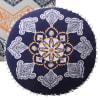 Medallion and Chevron Set of 2 Fabric Pillows