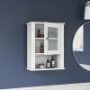 Prescott White Single Door Wall Cabinet