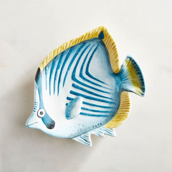 Pier 1 Fish Accent Plate Set of 4