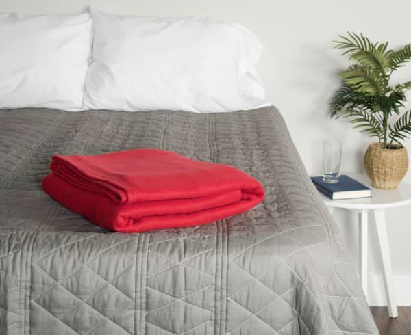 Claret Fleece Twin/Twin XL 60x96 Blanket