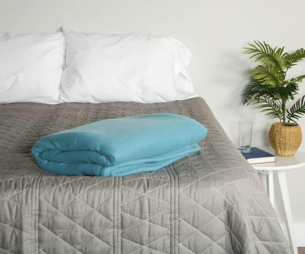 Blue Fleece Blanket Twin/Twin XL