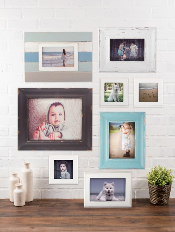 8x10 Distressed Barnwood Farmhouse Picture Frame
