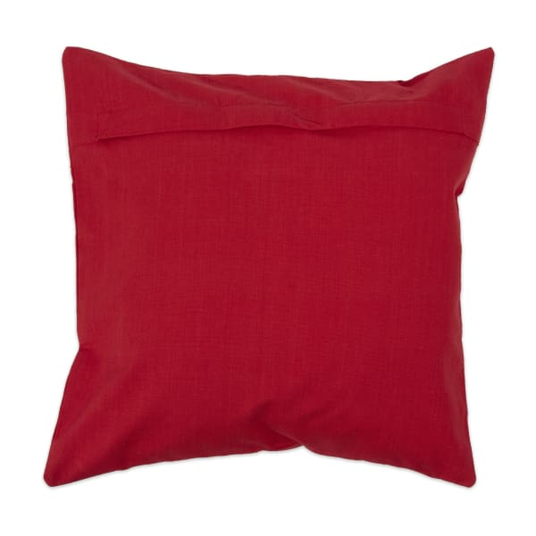 Red/White Pillow Cover Set of 4