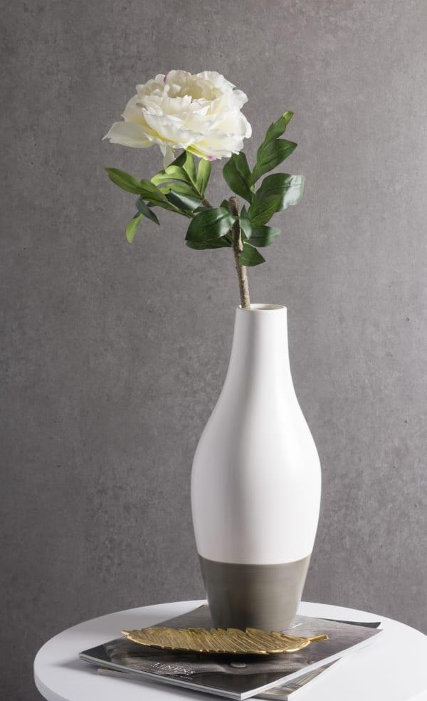 Flower Peony White (Set of 3)