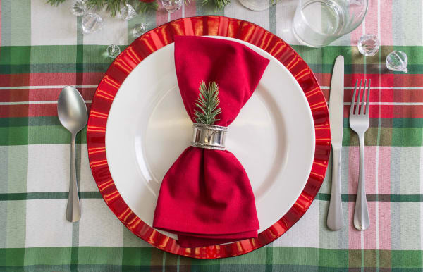 Cardinal Red Napkin (Set of 6)