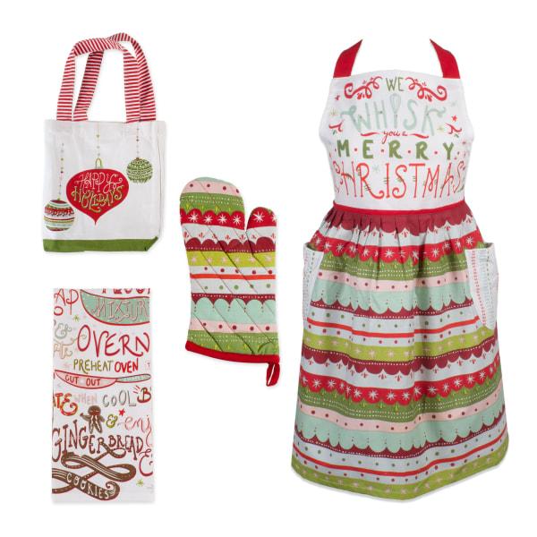 Cozy Christmas Kitchen (Set of 4)