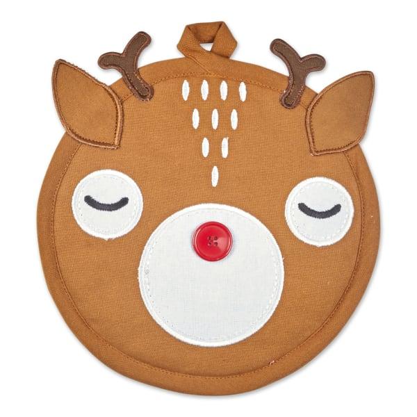 Rudolph Reindeer Holiday Potholder Gift Set