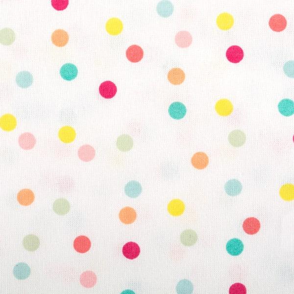 Multi Polka Dots Print Napkin (Set of 6)