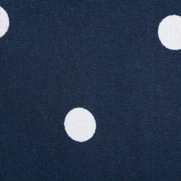 Polka Dot Napkin(Set of 4) Navy/White