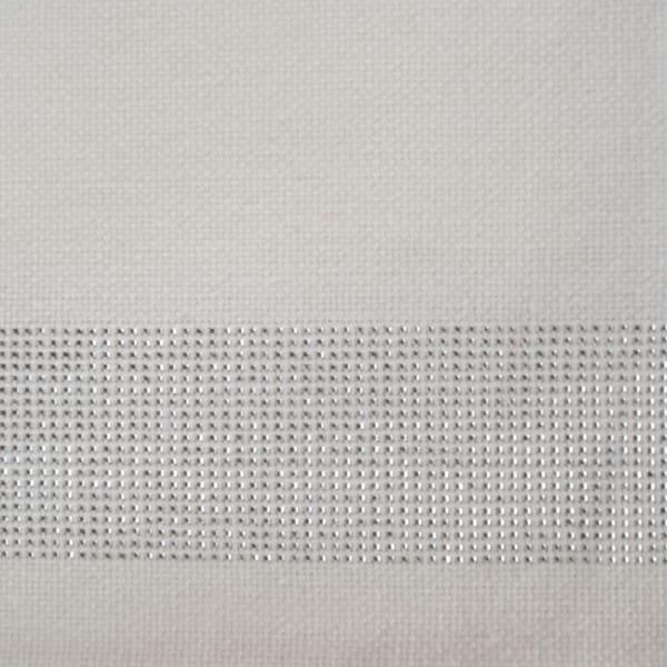 Silver Sparkle Stripe Napkin (Set of 6)