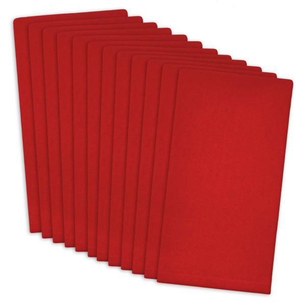 Tango Red Buffet Napkin Set of 12