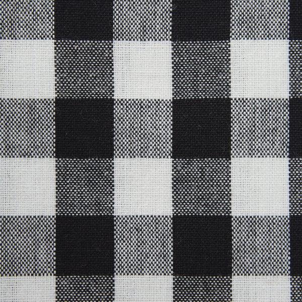 Black and White Farmhouse Check Napkin (Set of 6)