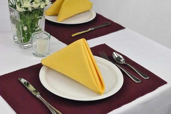 Yellow Napkin (Set of 6)