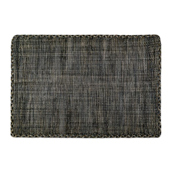 Variegated Gray Hand-Loomed Rug 2x3-ft