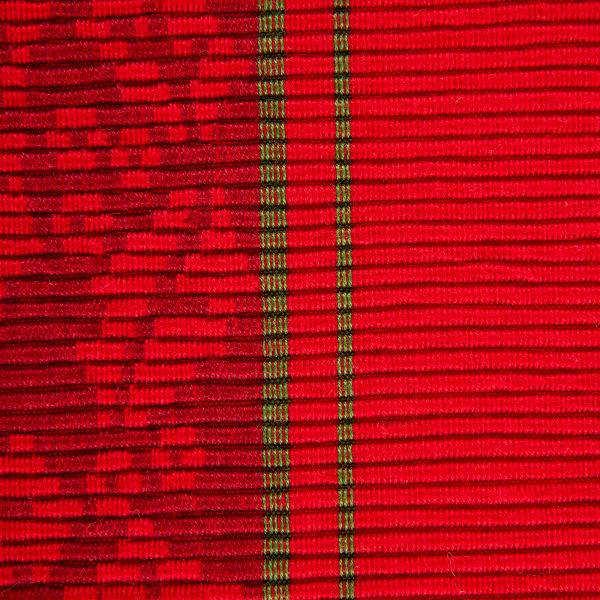 Holly Stripe Jacquard Table Runner 14x108
