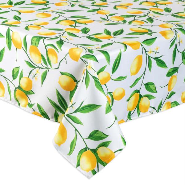 Lemon Bliss Print Outdoor Tablecloth