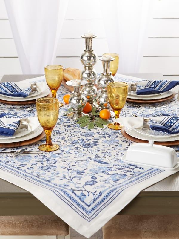 Madiera Print Tablecloth 60x84