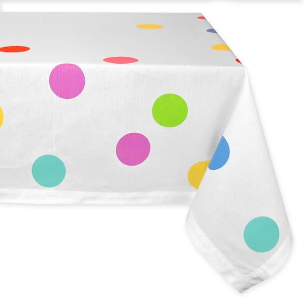 Confetti Print Tablecloth 60x84