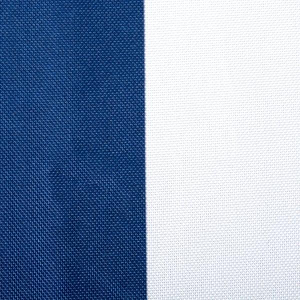 Nautical Blue Cabana Stripe Outdoor Table Runner 14x72