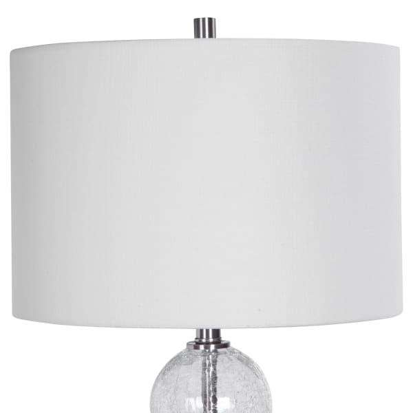 Glass Sphere Table Lamp