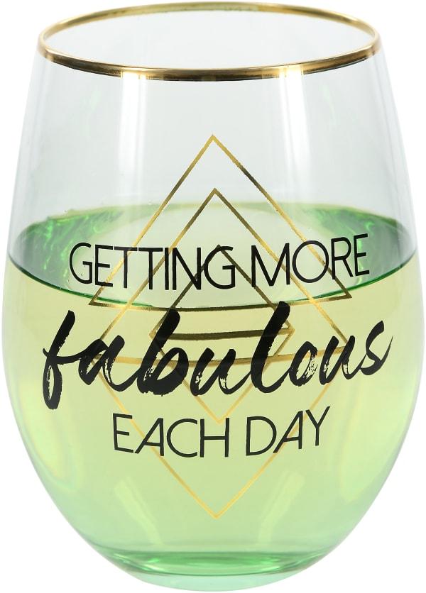 Fabulous - Stemless Wine Glass