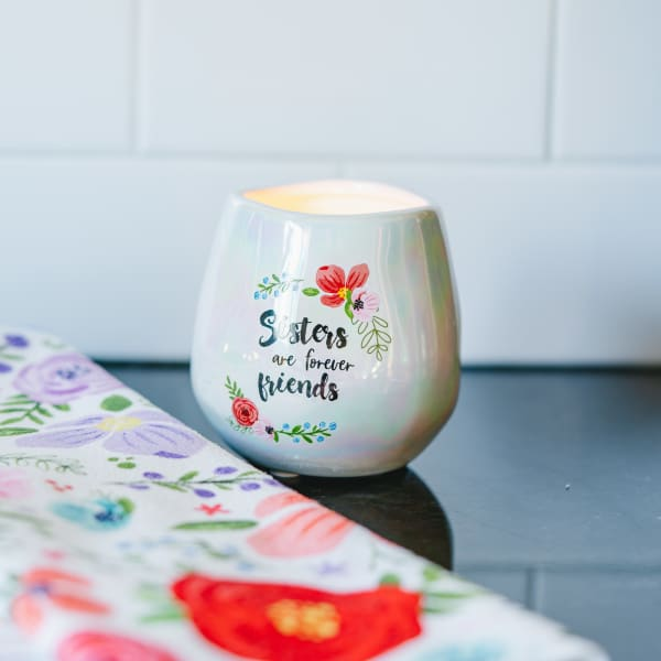 Sisters - 100% Soy Wax CandleScent: Serenity